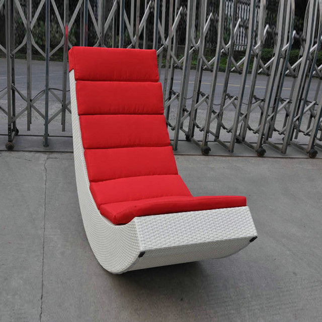 Widely Used Sofa Rocking Chairs Throughout Rattan Rocking Chair , Aluminum Frame Comfortable Rocking Sofa (View 9 of 20)
