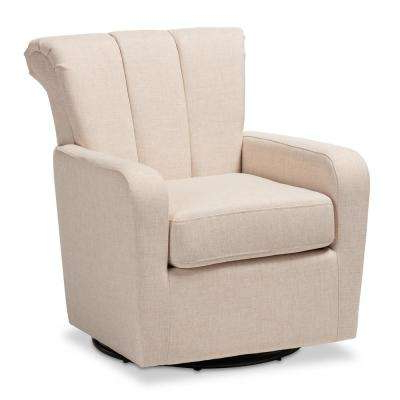 Widely Used Swivel – Accent Chairs – Chairs – The Home Depot With Regard To Katrina Grey Swivel Glider Chairs (View 14 of 20)