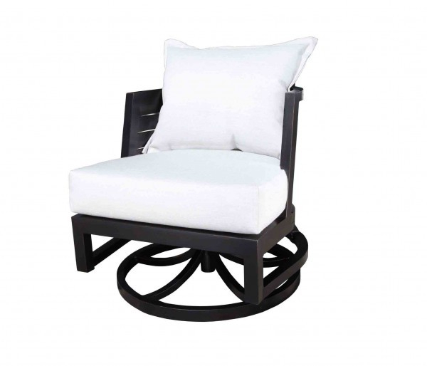 Widely Used Umber Grey Swivel Accent Chairs Pertaining To Delano Swivel Accent Chair – Sunguard Awnings & Patio Furniture (View 20 of 20)