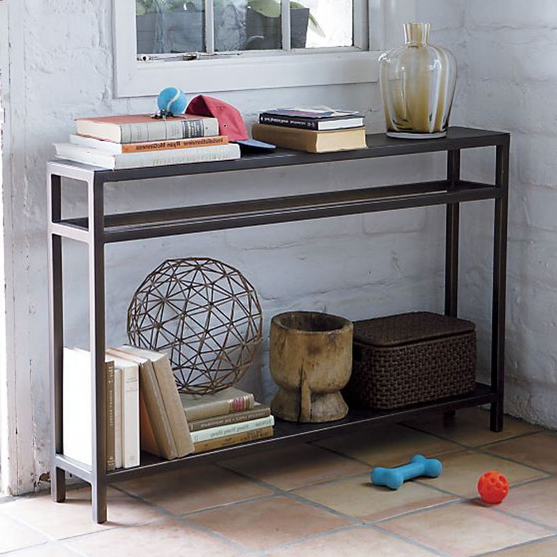 10 Slim + Slender Consoles For Small Spaces (View 3 of 20)