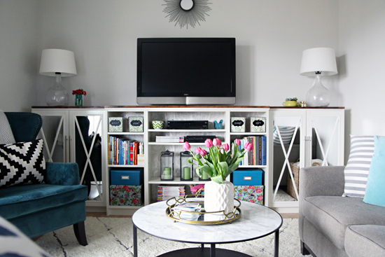 13 Diy Plans For Building A Tv Stand (View 1 of 20)