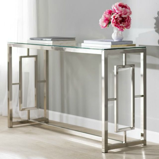 13 Pretty Console And Entry Tables For Your Home Throughout 2018 Intarsia Console Tables (Gallery 16 of 20)