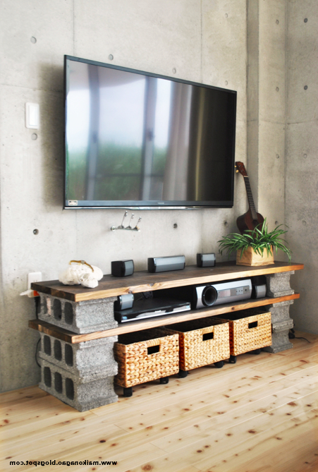 17 Diy Entertainment Center Ideas And Designs For Your New Home For Popular Under Tv Cabinets (Gallery 1 of 20)