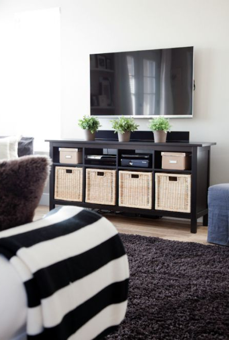 17 Diy Entertainment Center Ideas And Designs For Your New Home Inside Recent Tv Stands With Storage Baskets (View 1 of 20)