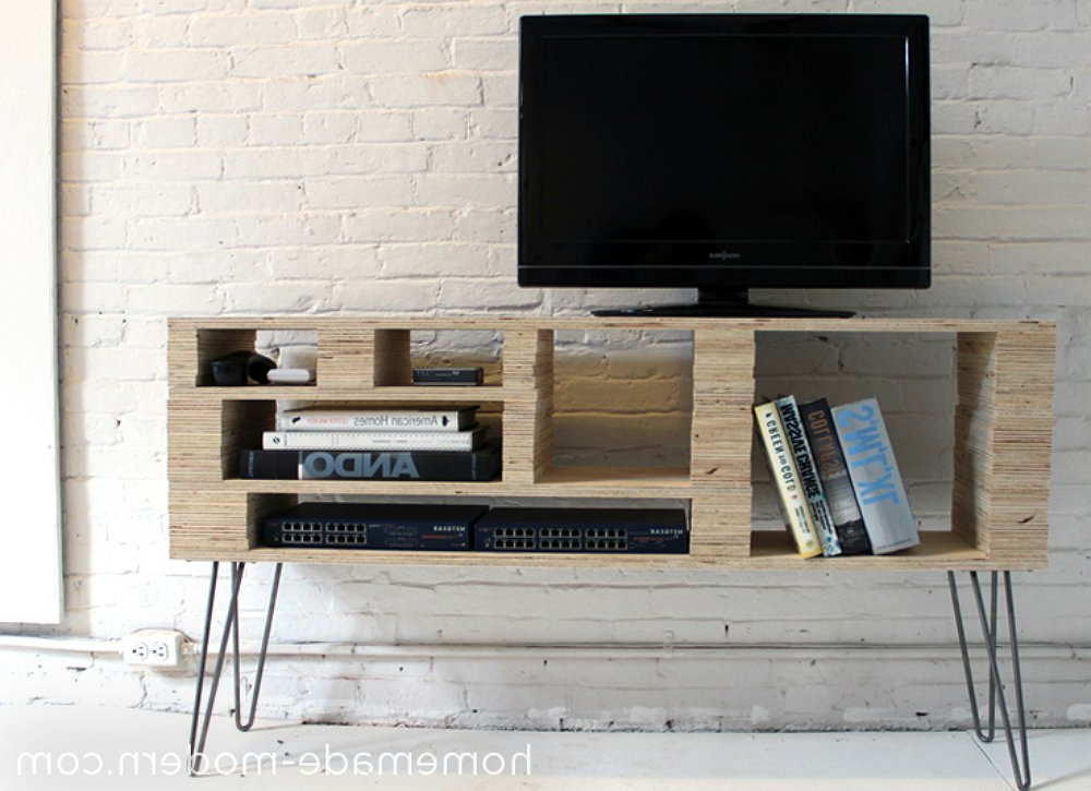 2017 21+ Diy Tv Stand Ideas For Your Weekend Home Project For Cheap Tv Table Stands (View 8 of 20)