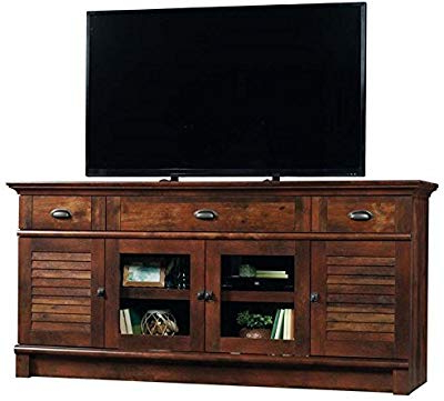 2017 Amazon: Bush Furniture Aero 56 Inch Tv Stand In Classic Black With Regard To Vista 68 Inch Tv Stands (View 1 of 20)