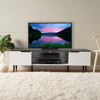 2017 Amazon: Christopher Knight Home 299074 Rowan Wood Tv Stand For Rowan 74 Inch Tv Stands (View 1 of 20)