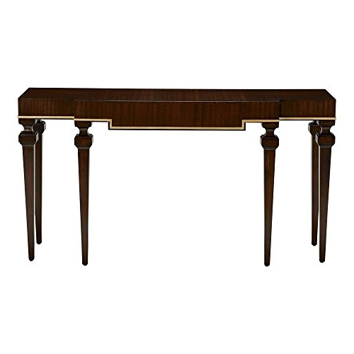 2017 Amazon: Ethan Allen Broderick Console Table, Hickory: Kitchen With Ethan Console Tables (Gallery 3 of 20)