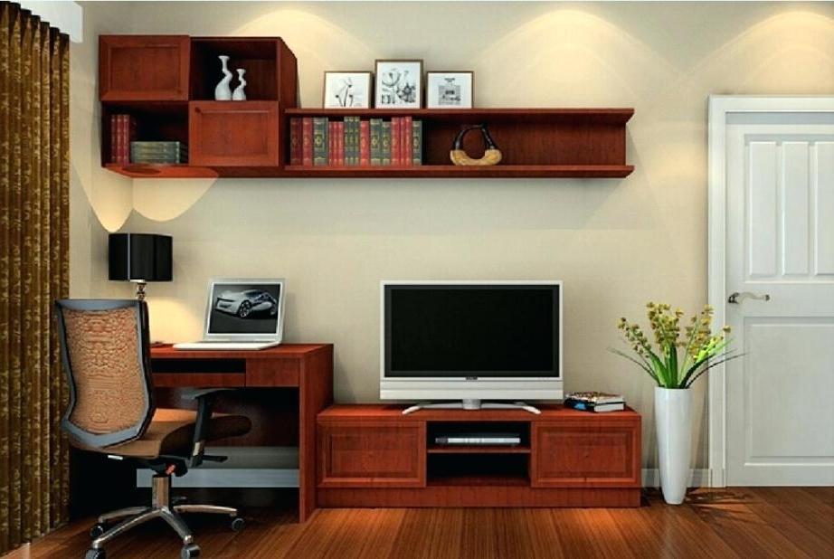 2017 Desk Tv Stand Tv Stand Computer Desk Computer Desk Stand Combo For Regarding Tv Stands And Computer Desks (Gallery 4 of 20)