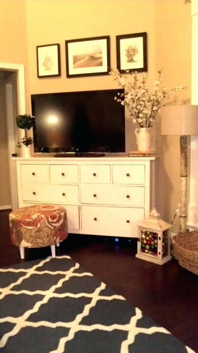 2017 Dresser And Tv Stands Combination Pertaining To Dresser With Tv Stand A Into Television Wooden Ideas – Gointime (Gallery 8 of 20)