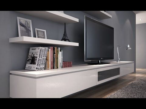 2017 Floating Tv Stand Diy – Youtube Throughout Floating Tv Cabinets (Gallery 3 of 20)