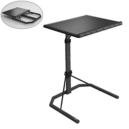 2017 Folding Tv Trays For Amazon: Lzttyee Plus Size Folding Tv Tray Table Adjustable (View 12 of 20)