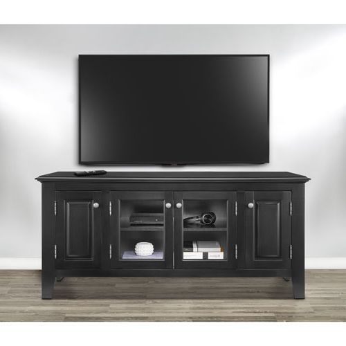 "2017 Insignia 60"" Tv Stand – Black : Tv Stands – Best Buy Canada Regarding Long Black Tv Stands (Gallery 4 of 20)"