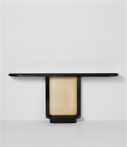 2017 Jacque Console Tables Throughout Console Tablejacques Adnet On Artnet (View 1 of 20)