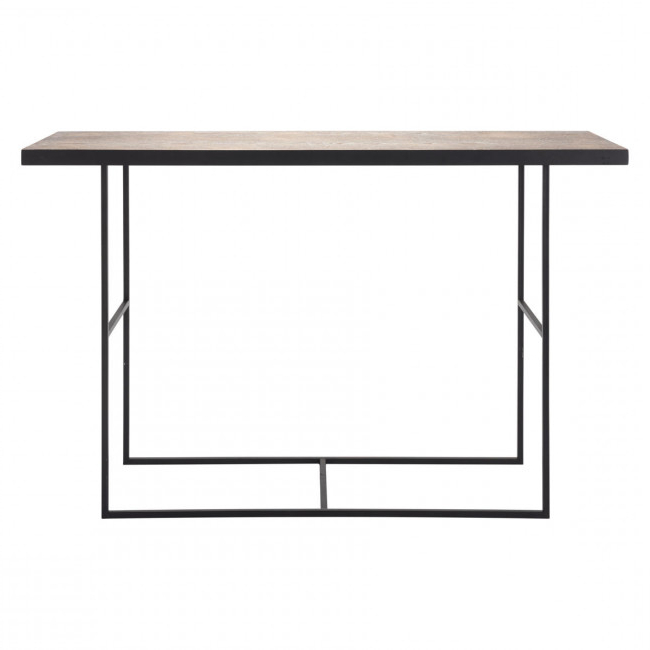 2017 Scattered Geo Console Tables In A10725 – Forest Console Table Black (Gallery 4 of 20)