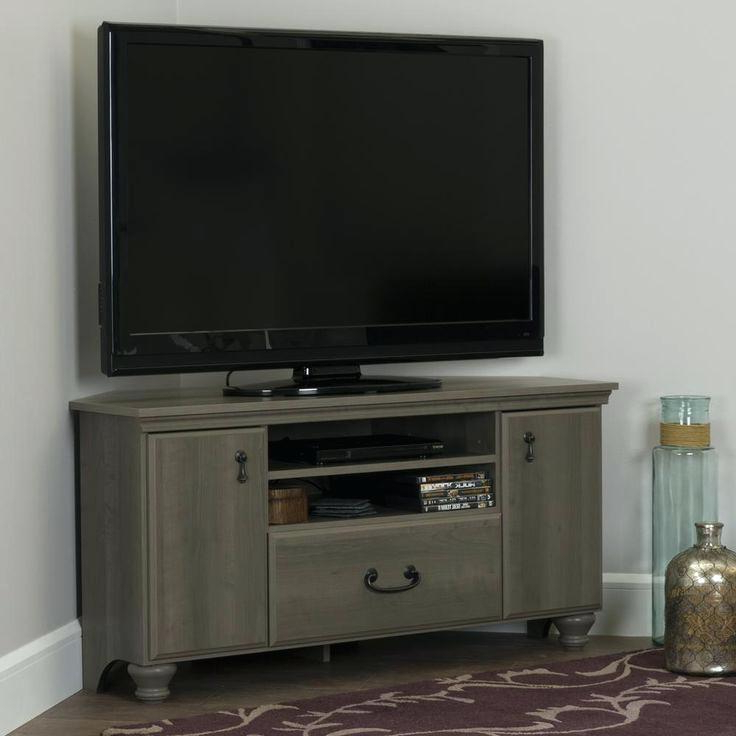 2017 Small Corner Tv Stands For Flat Screens Amazing Preferred Corner Regarding Narrow Tv Stands For Flat Screens (Gallery 16 of 20)