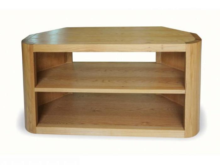 2017 Solid Oak Corner Tv Cabinets Regarding Solid Oak Tv Unit (Gallery 6 of 20)
