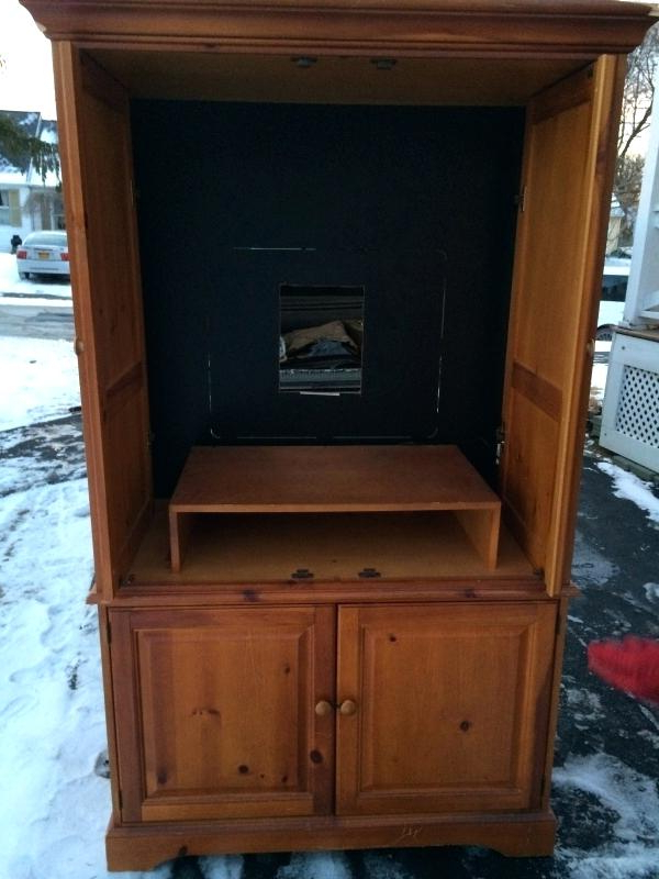 2017 Tv Hutch Cabinets Pertaining To Armoires ~ Tv Armoires For Sale Hutch Cabinets Used Tv Armoires For (View 10 of 20)