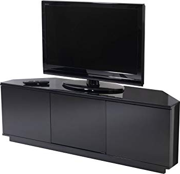 2017 Uk Cf Black Corner Tv Stand For Up To 60 Inch: Amazon.co (View 2 of 20)