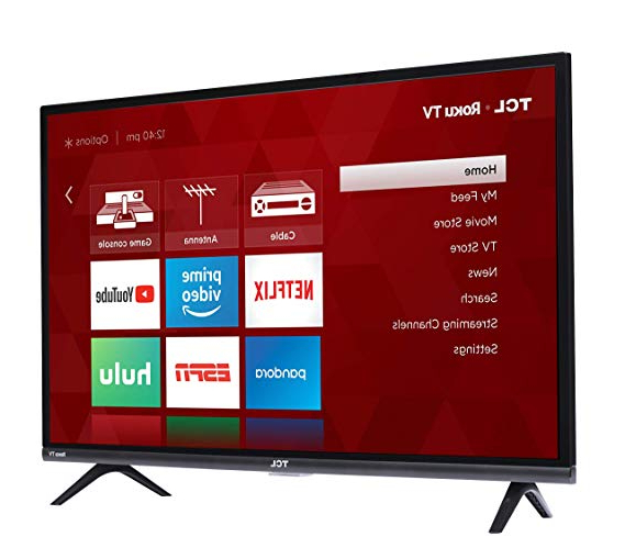 2017 Walton 60 Inch Tv Stands Pertaining To Amazon: Tcl 32s327 32 Inch 1080p Roku Smart Led Tv (2018 Model (View 14 of 20)