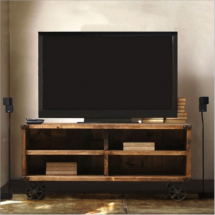 2017 Wooden Tv Stand With Wheels With Tv Stands: Glamorous Rolling Tv Stands For Flat Screens 2017 Design (View 1 of 20)