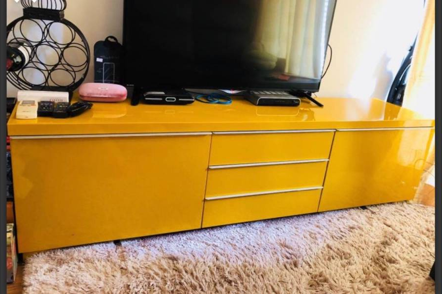 2017 Yellow Tv Stand – Sai Ying Pun :: Hong Kong Geoexpat With Regard To Yellow Tv Stands (Gallery 13 of 20)