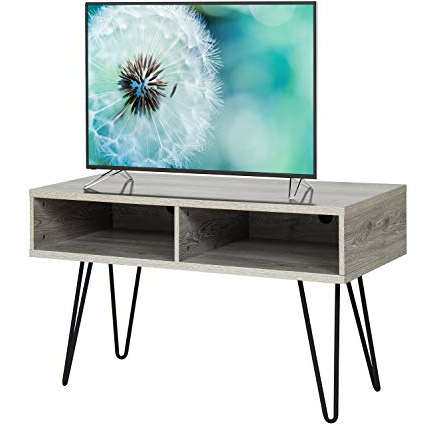 2018 Amazon: Best Choice Products 42in Hardwood Tv Stand Media Intended For Hairpin Leg Tv Stands (View 7 of 20)