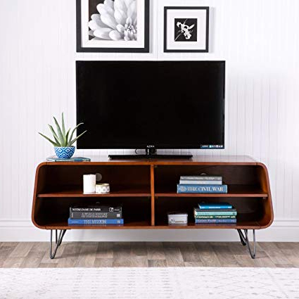 2018 Amazon: Mid Century Modern Tv Stand Provides Retro Style And For Contemporary Modern Tv Stands (View 9 of 20)