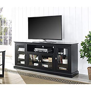 2018 Amazon: Tv Stand Is Great Display Cabinet And Bookshelf. 3 In 1 In Casey Grey 74 Inch Tv Stands (Gallery 3 of 20)