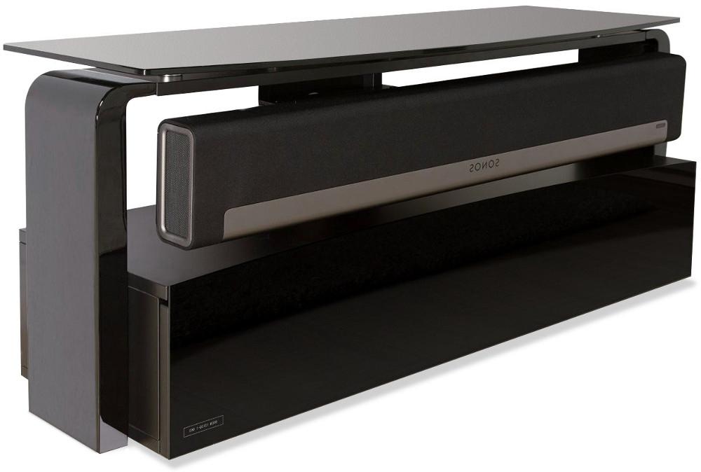 2018 Buy Alphason As9001 Sonos Playbar Tv Stand – Black (Gallery 8 of 20)