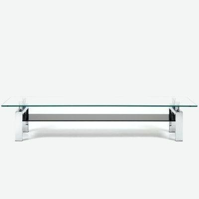 2018 Contemporary Glass Tv Stands Throughout Basic Tv Stand The Stand Is A Modern Glass Stand A Basic (Gallery 13 of 20)