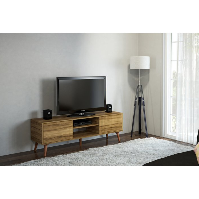 """2018 Corrigan Studio Kenna Stylish Tv Stand For Tvs Up To 65"""" & Reviews In Stylish Tv Stands (View 1 of 20)"""