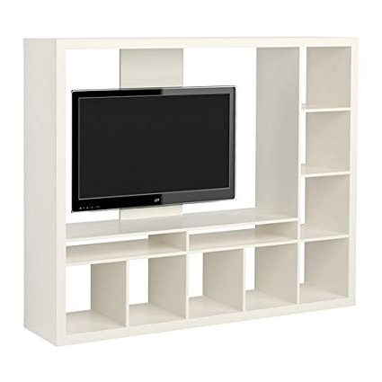 2018 Entertainment Center Tv Stands With Regard To Amazon: Ikea Expedit Entertainment Center Tv Stand Up To  (View 1 of 20)