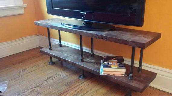 2018 Industrial Tv Stands With Regard To Industrial Tv Stand (Gallery 9 of 20)