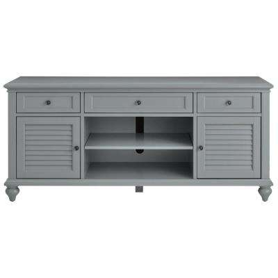 2018 Kenzie 72 Inch Open Display Tv Stands For Gray – Tv Stands – Living Room Furniture – The Home Depot (Gallery 16 of 20)