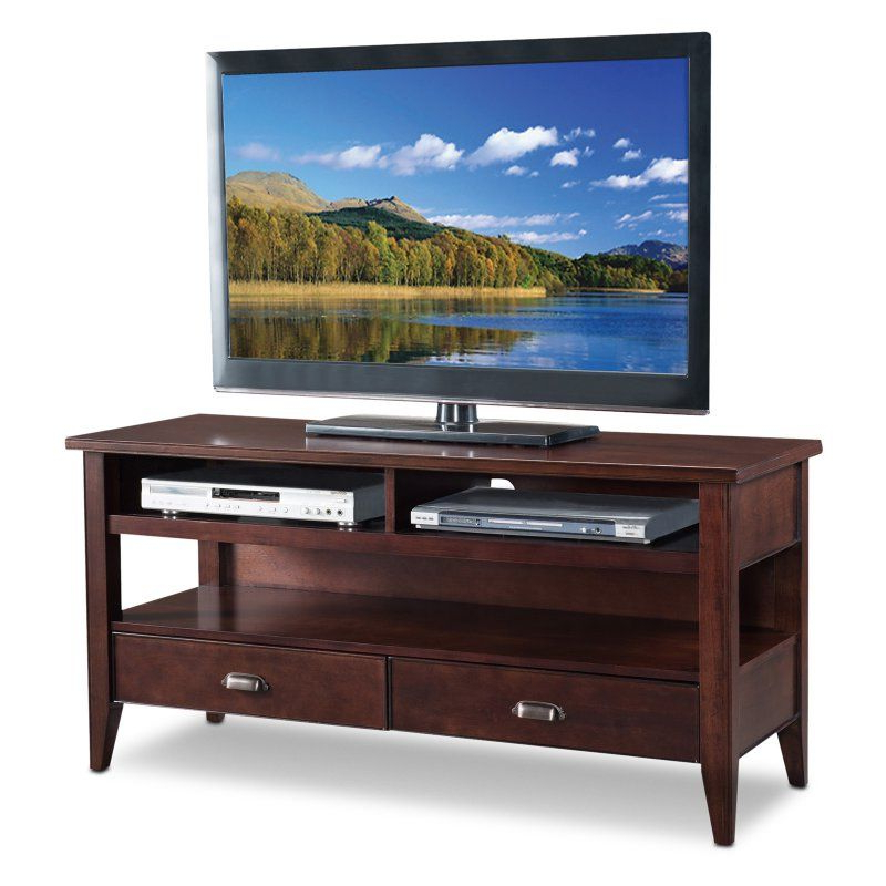 2018 Laurent 50 Inch Tv Stands For Leick Laurent 50 In (View 1 of 20)
