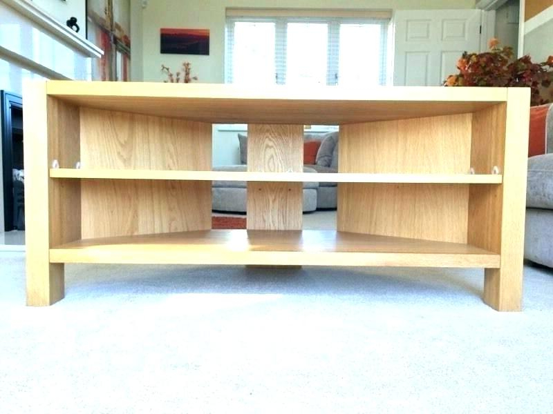 2018 Light Oak Tv Corner Units Pertaining To Light Oak Television Stands Light Oak Stand Corner Unit Light Honey (Gallery 11 of 20)