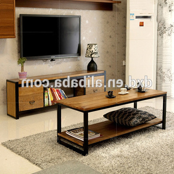 2018 Metal Frame Wooden Tv Stand – Buy Cheap Tv Stands,wood Led Tv Stand Pertaining To Metal And Wood Tv Stands (View 7 of 20)