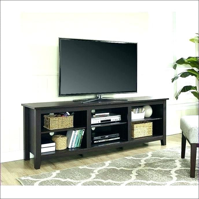 2018 Narrow Tv Stands For Flat Screens Throughout Narrow Tv Stand – Icarusnz (Gallery 18 of 20)