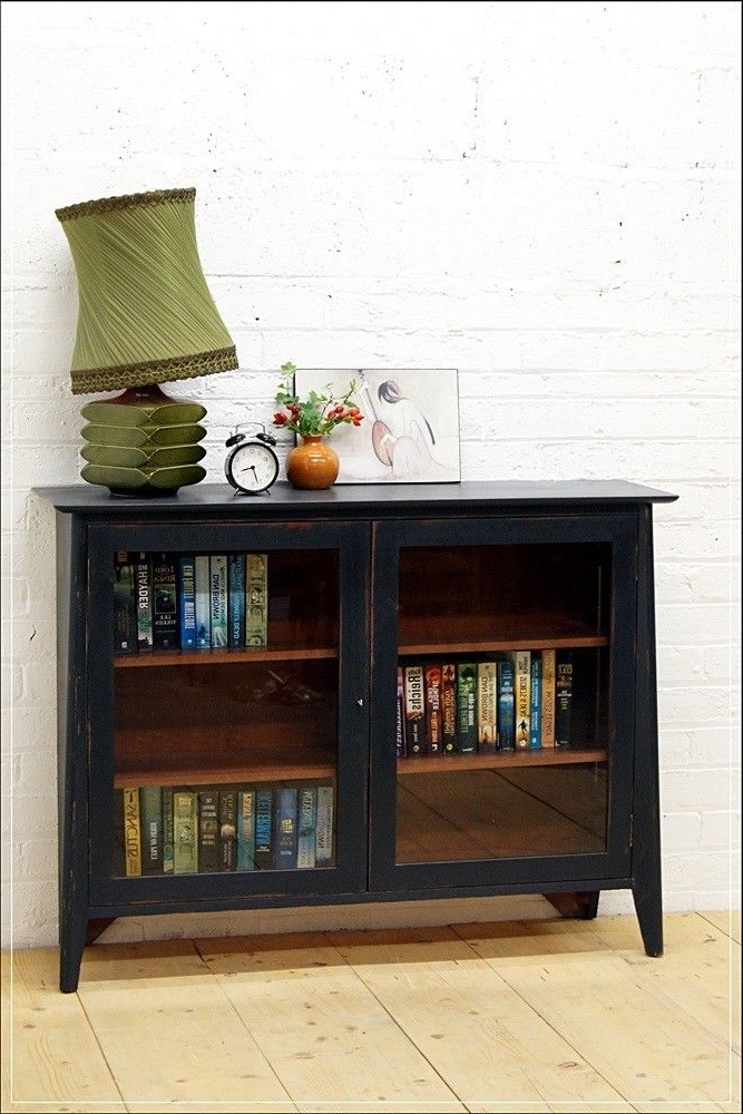 2018 Shabby Chic Tv Cabinets Within Sideboard Vintage Bookcase Mid Century Danish Shabby Chic Tv Stand (View 3 of 20)