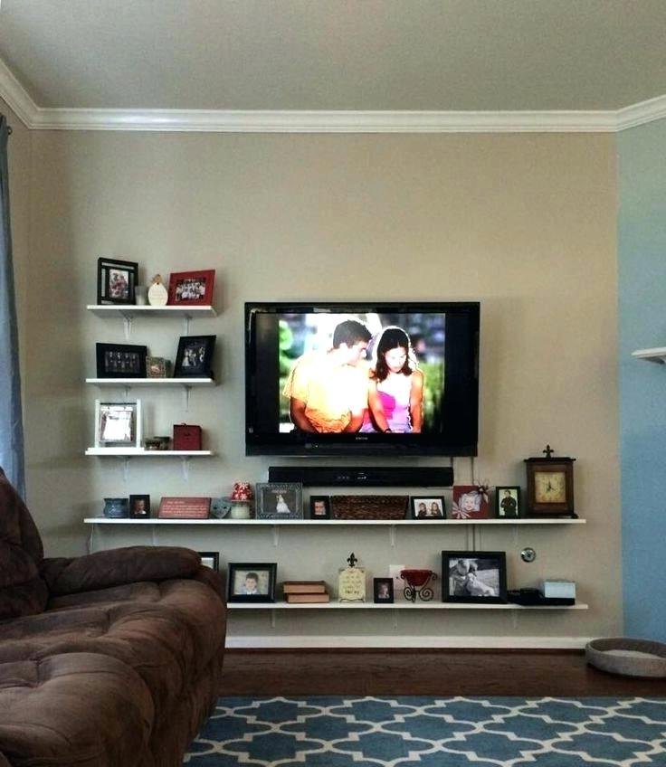 2018 Table Under Wall Mounted Tv Console Table For Wall Mounted Cabinet With Regard To Console Tables Under Wall Mounted Tv (Gallery 16 of 20)