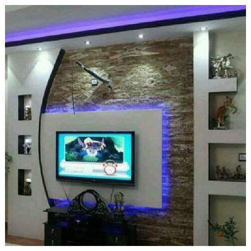 2018 Tv Entertainment Units Pertaining To Tv Entertainment Unit At Rs 950 /square Feet (View 2 of 20)