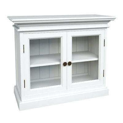 2018 White Tv Stand With Glass Doors Gloss White Cabinet White Tv Stand With Regard To Tv Cabinets With Glass Doors (Gallery 19 of 20)