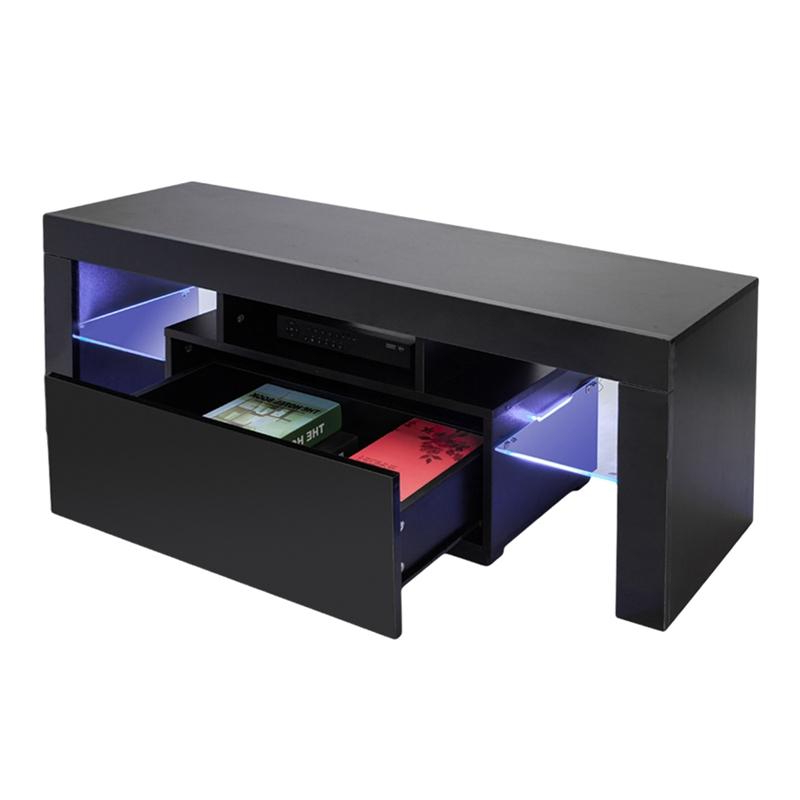2019 Led Tv Stand Modern Led Living Room Furniture Black Tv Cabinets With Most Current Led Tv Cabinets (Gallery 5 of 20)