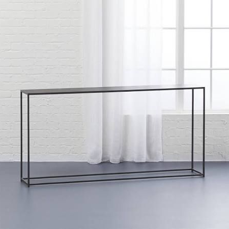 $299.00 Mill Console Table Narrow Depth – Google Search $ (View 1 of 20)