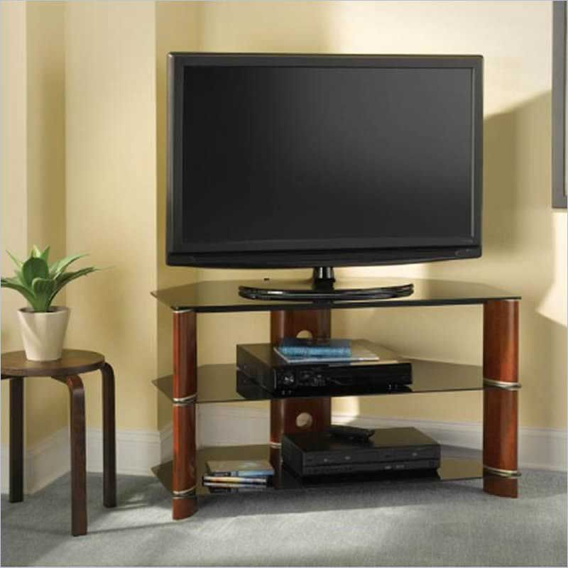 3 Discount Flat Screen Tv Stand With Shelf And Consumer Reviews Within Most Popular Cheap Corner Tv Stands For Flat Screen (Gallery 5 of 20)