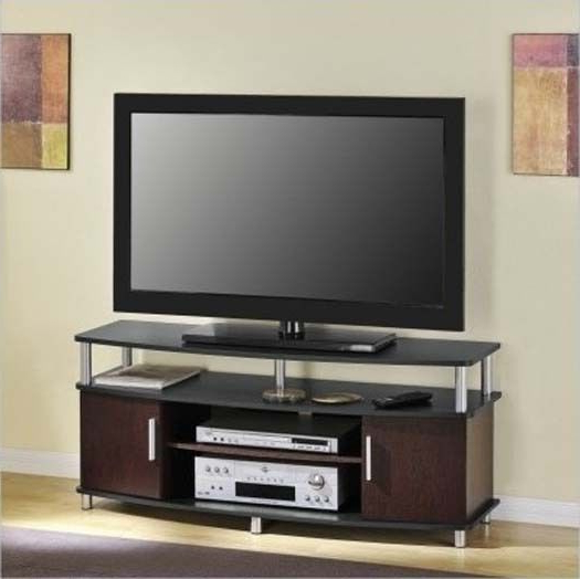 50 Inch Tv Stand Entertainment Center Storage Shelf Cabinets Wooden Throughout Most Recently Released Wooden Tv Stands For 50 Inch Tv (Gallery 16 of 20)