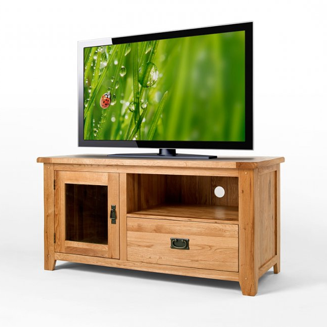[%50% Off Rustic Oak Tv Cabinet With Glass Doors | Westbury Intended For Recent Wooden Tv Cabinets With Glass Doors|wooden Tv Cabinets With Glass Doors Within 2017 50% Off Rustic Oak Tv Cabinet With Glass Doors | Westbury|favorite Wooden Tv Cabinets With Glass Doors Intended For 50% Off Rustic Oak Tv Cabinet With Glass Doors | Westbury|popular 50% Off Rustic Oak Tv Cabinet With Glass Doors | Westbury In Wooden Tv Cabinets With Glass Doors%] (View 2 of 20)