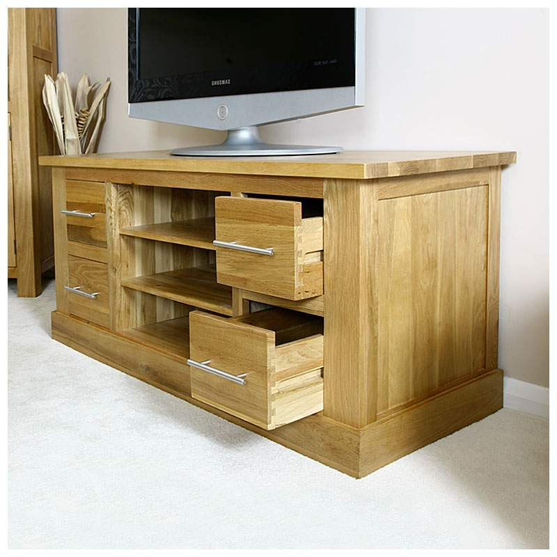 [%50% Off Solid Oak Tv Cabinet Stand With Drawers | Wide Unit | Delamere With Popular Wide Oak Tv Units|Wide Oak Tv Units In Preferred 50% Off Solid Oak Tv Cabinet Stand With Drawers | Wide Unit | Delamere|Most Popular Wide Oak Tv Units For 50% Off Solid Oak Tv Cabinet Stand With Drawers | Wide Unit | Delamere|Famous 50% Off Solid Oak Tv Cabinet Stand With Drawers | Wide Unit | Delamere Inside Wide Oak Tv Units%] (View 2 of 20)