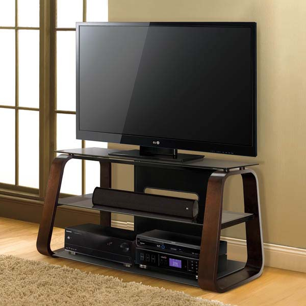 55 Inch Tv Stand Bello Curved Wood 55 – Furnish Ideas For Latest Tv Stands For 55 Inch Tv (View 3 of 20)